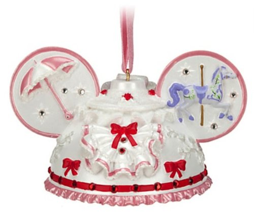 Disney Parks Mary Poppins Mickey Mouse Ears Hat Ornament