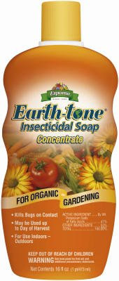 Espoma Organic Earth-Tone Insecticidal Soap - 16 oz Concentrate ISC16