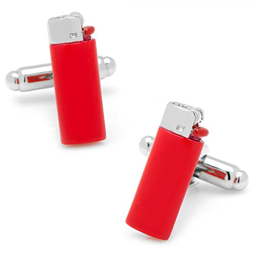 Red Lighter Cufflinks