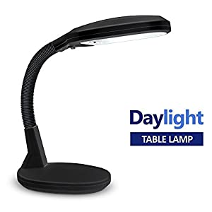MiniSun SAD Daylight 27w Adjustable Energy Saving Reading Light Desk Table Lamp - Black by MiniSun