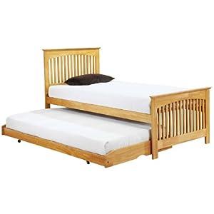 Toronto Single Bed Frame Slide Out Guest Bed Slatted