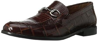 Stacy Adams Men's Servino Slip-On Loafer,Cognac,7 M US