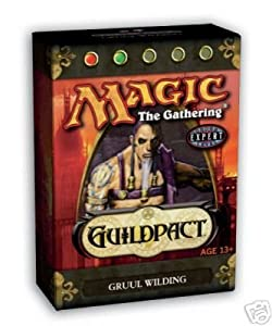 Magic the Gathering * Guildpact Theme Deck: Gruul Wilding * (Red/Green) - OUT OF PRINT