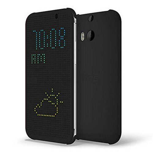 Htc Hc M100 Dot View Flip Case For Htc One (M8)