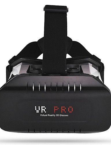 Head Mount Plastic VR BOX 2.0 Version VR Virtual Reality Glasses Google Cardboard 3d Game Movie , white