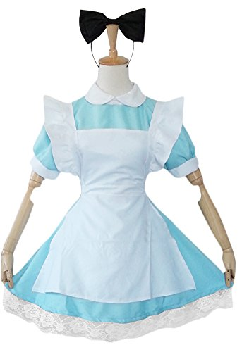Ace Halloween Adult Women's Alice's Adventures in Wonderland Sexy Maid Costume