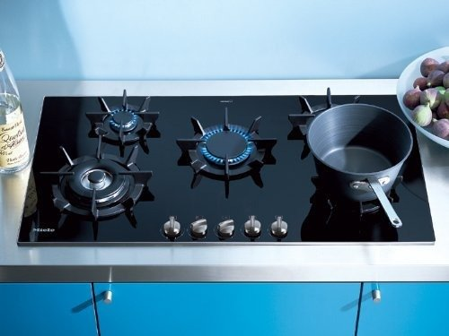 Miele : KM391LP 36 Sealed Burner Gas Cooktop