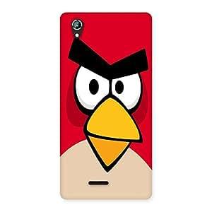 Ajay Enterprises Angry Beak Back Case Cover for Lava Iris 800