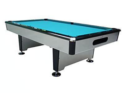 Playcraft Silver Knight 7 foot Pool / Billiards Table