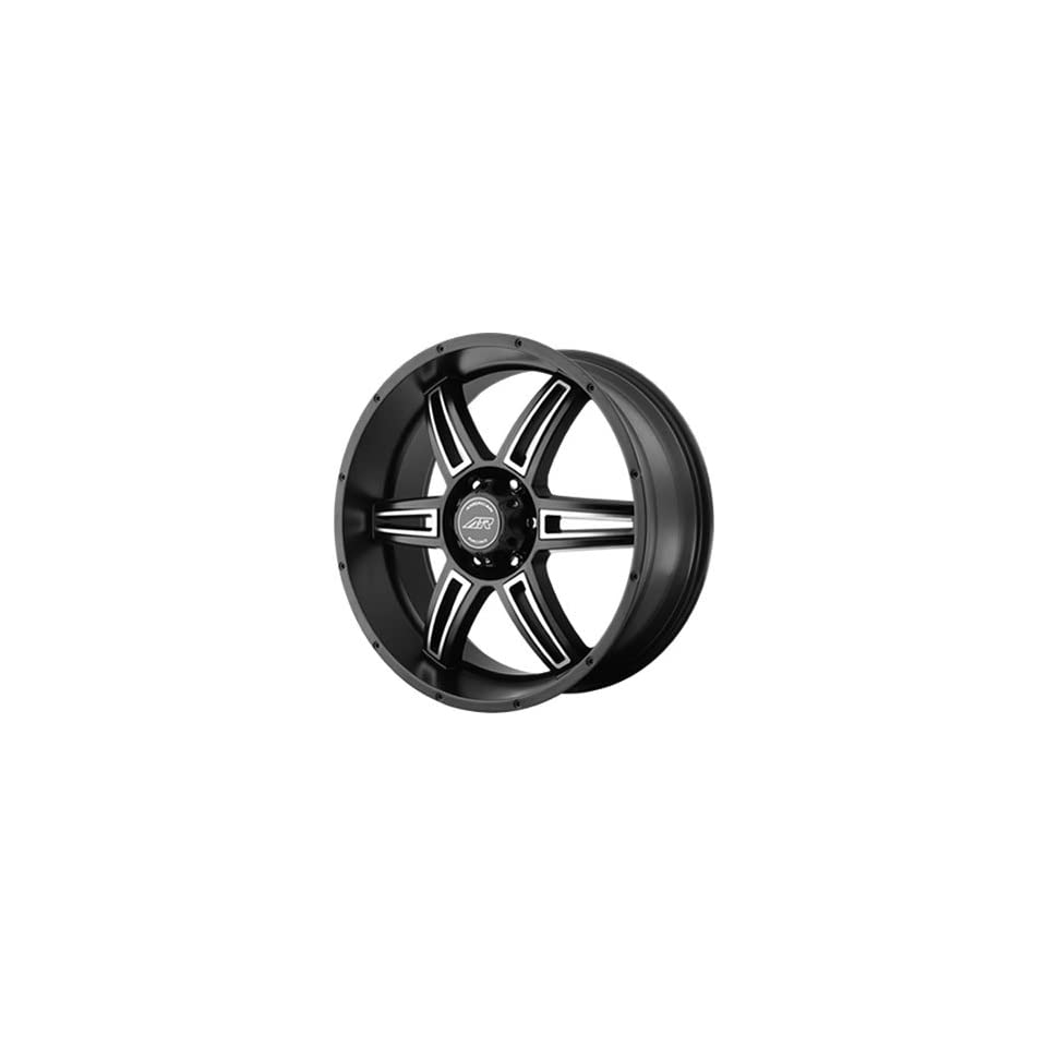 American Racing AR890 18x8 Black Wheel / Rim 5x5.5 with a 0mm Offset and a 108.00 Hub Bore. Partnumber AR89088055700