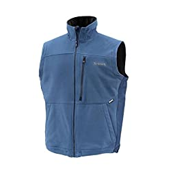 Simms Adl Fleece Vest, Navy, Size: S (10337-410-20)