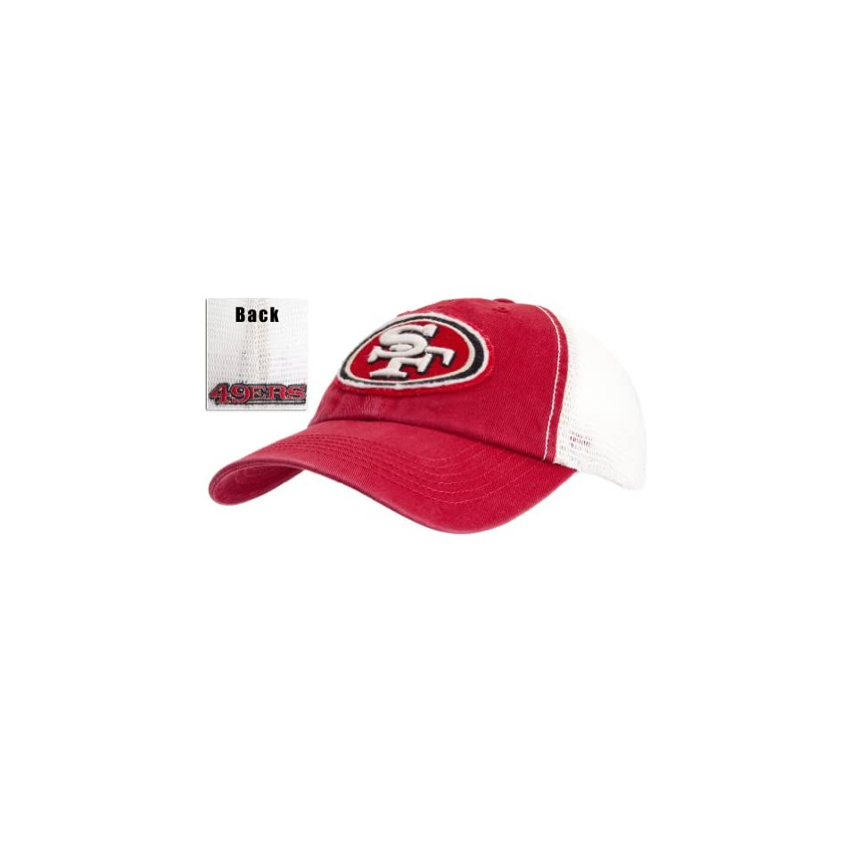 San Francisco 49ers   Logo Stanwyk Fitted Cap Clothing