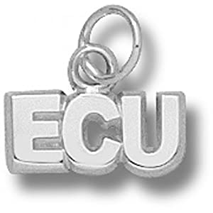 Ecu East Carolina Univ. Pirates Pendant - Sterling Silver by NCAA Officially Licensed