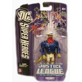 Buy Low Price Mattel DC Super Heroes: Justice League Unlimited Vigilante (Purple Card) Action Figure (B000Y21UMQ)