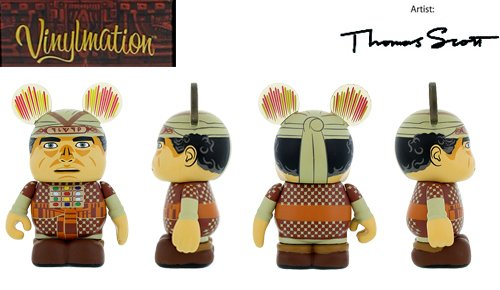 "Indiana Jones Series 1 Rene Belloq Disney Vinylmation 3"" inch Figure - 1"