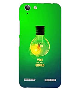 PrintDhaba Quote D-2863 Back Case Cover for LENOVO VIBE K5 (Multi-Coloured)