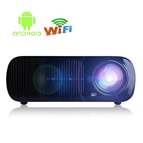 iRULU 20 Pro Android Wi-Fi Smart Video Projector (Black)