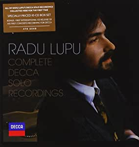 Radu Lupu: Complete Decca Solo Recordings (Coffret 10 CD)