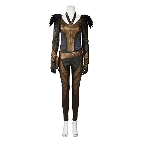 [MLYX Women's The Flash Arrow Hawkgirl Cosplay Costume Outfit Halloween Costumes (XX-Large)] (Hawkgirl Cosplay Costume)