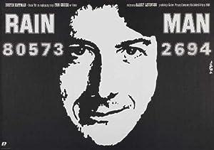 Rain Man Movie Poster (27 x 40 Inches - 69cm x 102cm) (1988) Polish -(Dustin Hoffman)(Tom Cruise)(Valeria Golino)(Jerry Molen)(Jack Murdock)(Michael D. Roberts)