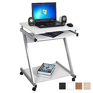 Songmics bureau informatique table informatique meuble - Ordinateur de bureau chez carrefour ...