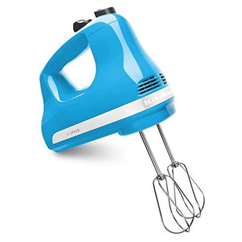 Cheap KitchenAid KHM512CL 5-Speed Ultra Power Hand Mixer, Crystal Blue