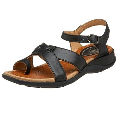 Ariat Women's Harbor Sandal,Black,5.5 M US