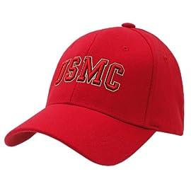 RAPID DOMINANCE Military / Law Flex Baseball Caps (US MARINES, L / XL)