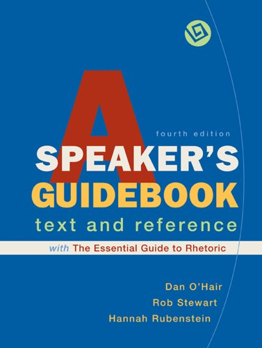 A Speaker's Guidebook with The Essential Guide to...