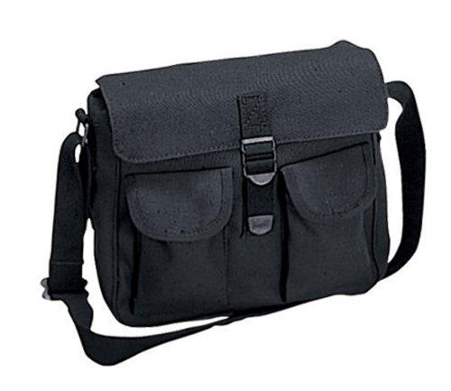 Cotton Canvas Messenger Shoulder Bag 114