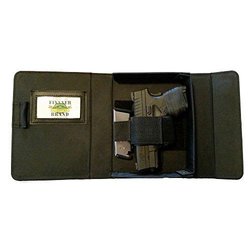 Fixxxer Original Notebook/Day Planner Conceal Carry Gun Case Holster, Black (Gun Wallet Holster compare prices)
