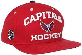 NHL Washington Capitals Locker Room Snapback Hat