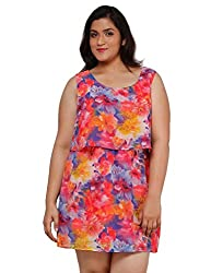 Oxolloxo Plus size floral dress