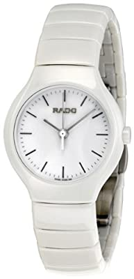 Rado Women's R27696022 True White White Ceramic Bracelet Watch