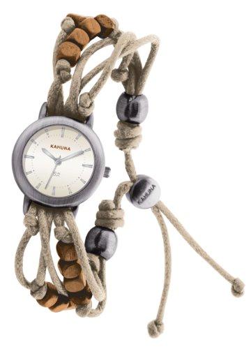 Kahuna Women's Quartz Watch  Beige Dial Analogue