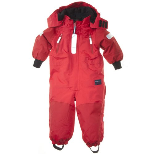 POLARN O. PYRET SNOWSUIT BABY - 1-1.5 YRS/Poppy