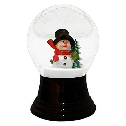 PR1551 - Perzy Snowglobe, Medium Snowman w/scarf - 5