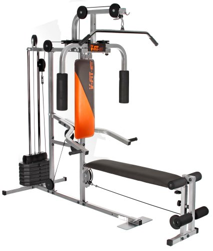V-Fit Herculean LFG2 Lay Flat Gym (2 Boxes)