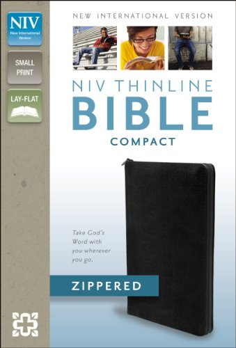 NIV Thinline Zippered Collection Bible, Compact PDF