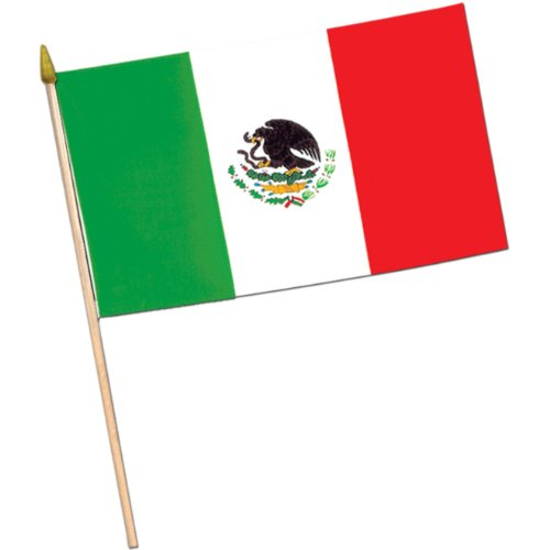 "Mexican Flag 4"" x 6"" (1 ct)"