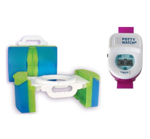 Travel Potty with Training Timer, Pink (Travel Potty By Cool Gear compare prices)
