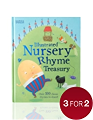 Illustrated Nursery Rhymes Book