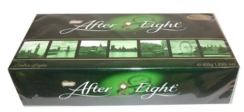 After Eight Dinner Mints Christmas Holiday Candy Gift 1.83 Pound Gift Box