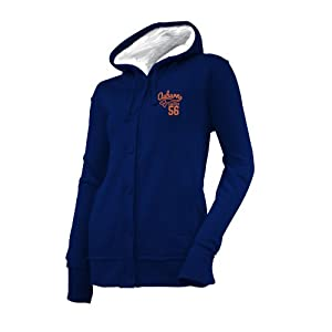 NCAA Auburn Tigers Ladies Chunky Cable Hoodie by Ouray Sportswear