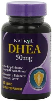 Natrol DHEA 50mg, 60 Tablets