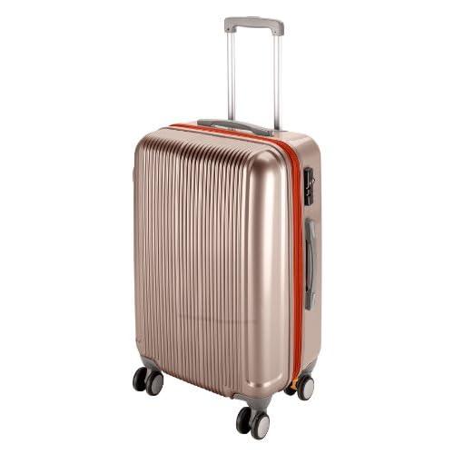 キャプテンスタッグ(CAPTAIN STAG) グレル トラベルスーツケース TSAロック付きWFタイプ M シャンパンベージュ UV-23