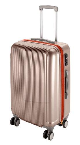 キャプテンスタッグ(CAPTAIN STAG) グレル トラベルスーツケース TSAロック付きWFタイプ L シャンパンベージュ UV-22