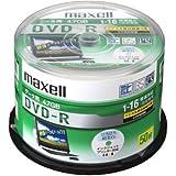 日立マクセル データ用DVD-R 4.7GB 16倍速 CPRM対応 インクジェットプリンター対応 50枚入り DRD47WPD.50SP