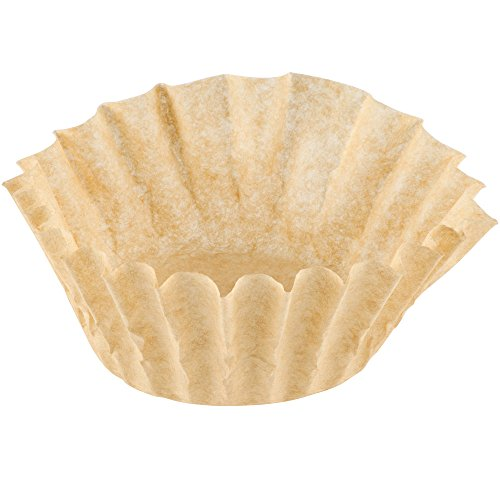 Coffee Filters - Natural Unbleached Brown Biodegradable - Large Basket 12 Cup - 200 Count (Unbleached Basket Coffee Filters compare prices)
