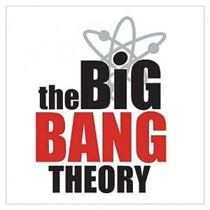 The Big Bang Theory - Logo - Sticker Aufkleber